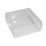 B1590CL Box: Acetate: Large - 16.5 x 16.5 x 6.9cm: 12 - Clear